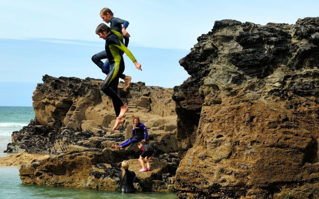 Kids activities in Cornwall explore image