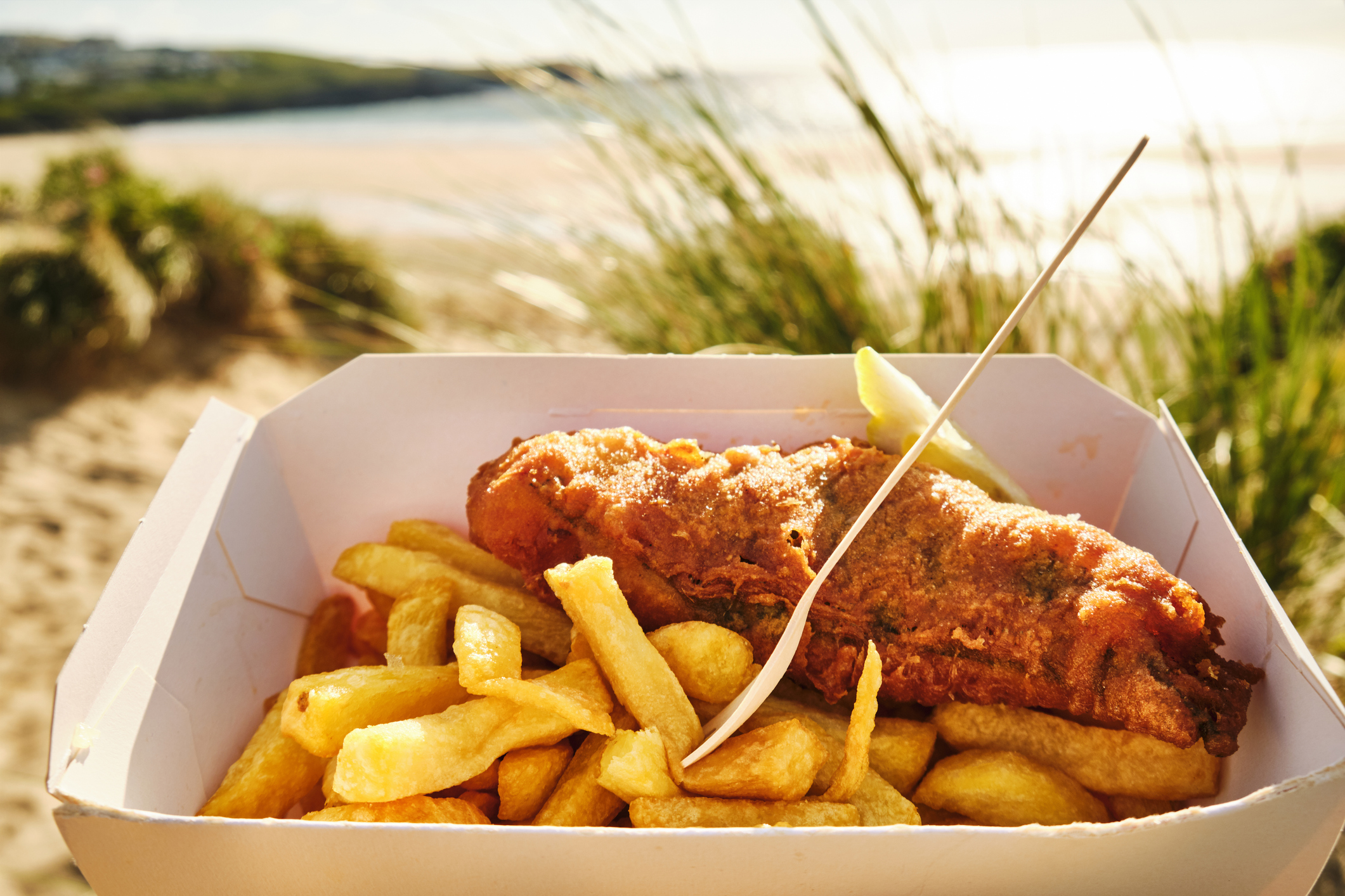 Finger lickin' chippies: the best fish and chips in Cornwall