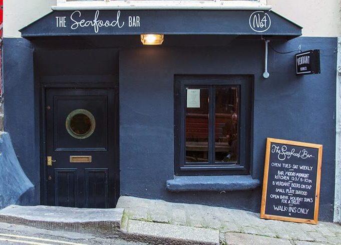 THE SEAFOOD BAR, QUAY ST, FALMOUTH